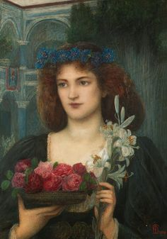 Beatrice, 1898 ~ Marie Spartali Stillman (1844-1927)