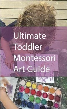 I designed this guide specifically for Montessori teachers. It covers the two Montessori planes, and each section in this guide is linked to. Montessori Art, Montessori Elementary, Montessori Classroom, Montessori Toddler, Toddler Preschool, Teaching Methods, Teaching Art, Private Teacher, Art Area