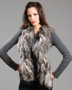 oh yessss - Silver Fox Fur Fur Scarves, Fur Blanket, Fox Fur, Fur Coat, Silver, Jackets, Fashion, Down Jackets, Moda
