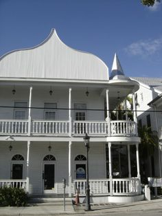 Former Key West Cuban Club on Duval St. in Key West, FL