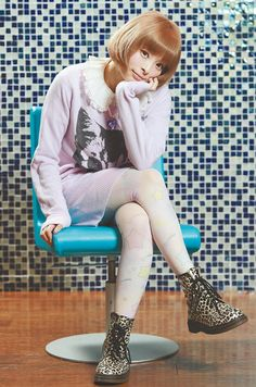kyary pamyu pamyu Singer Fashion, Girl Fashion, Fashion Ideas, Asian Woman, Asian Girl, Makeover Party, Kyary Pamyu Pamyu, Japanese Models, Japanese Artists
