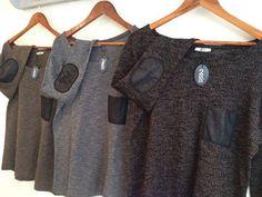 LAST ITEMS!!!! Winter top\Oversize Sweater\Jersey Blouse\Oversize Vintage style Sweater\Women's Blouse\Jersey Top\Melange Black Top on Etsy, $59.00