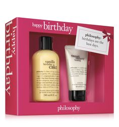 """say """"happy birthday"""" with our new gift sets!"""