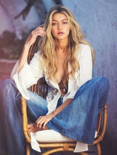 Gigi Hadid for Guess Spring 2015 Campaign