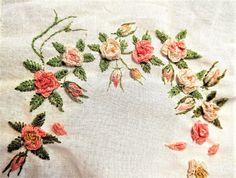 вышивка, бразильская вышивка, embroidery, Stickerei Napkins, Embroidery, Towels, Dinner Napkins