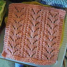 Ravelry: Baby Fern Stitch Dishcloth pattern by Vaunda Rae Giberson