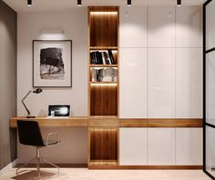Home Office Designs - Home offices are now a norm to modern homes. Here are some brilliant home office design ideas to help you get started. Home Office Design, Home Office Decor, Modern House Design, Home Interior Design, Home Decor, Office Designs, Office Ideas, Office Style, Workspace Design