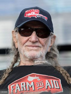 Willie Nelson attends press conference at the Farm Aid 30 at FirstMerit Bank Pavilion at Northerly Island on September 19, 2015 in Chicago, Illinois.