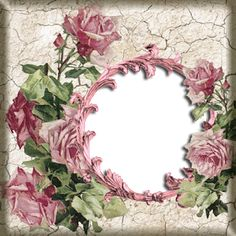 Enchanted place of Neli Printable Frames, Free Frames, Arts And Crafts, Paper Crafts, Free Digital Scrapbooking, Arte Floral, Frame It, Flower Frame, Pattern Paper