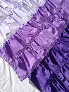 Custom Made Purple Ombre Ruffle Curtains by TheCrookedBranch Ruffle Curtains, Curtains For Sale, Purple Ombre, Custom Made, Trending Outfits, Kids Bedroom, Unique Jewelry, Costume Jewelry, Kid Bedrooms