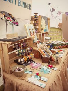 Craft Show Display by The Penny Runner 2013 www.ThePennyRunner.etsy.com