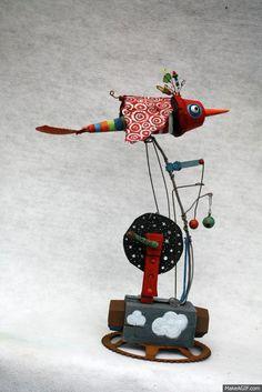 gerard collas - Oiseau arc-en-ciel