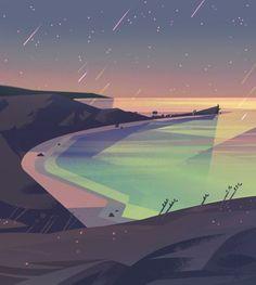 Rainy Bay: Steven Universe.