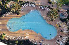The Beach Club Pool in Gulf Shores. Condo Rentals by www.PrickettProperties.com
