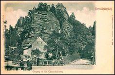 Hřensko - rozcestí (1900)