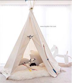 BIG teepee play tent voor kinderen NO POLES - foto 1