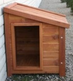 Dog house and door