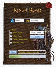 free kings road cheats and hack facebook games download