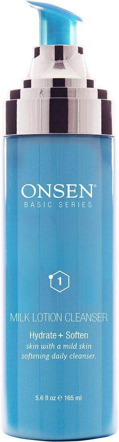 Onsen Secret Milk Lotion Cleanser Mildly Exfoliation Professional Grade & High Performance All Types of Skin 5.6oz (165 ml) by Onsen. Creamy Skin Softing Cleanser, which Provides Mildly Exfoliation without Stripping. Excellent for all Types of Skin, Gently Dissolves and Removes Oily Residue and Dirt. This Pro-Grade Milk Lotion Prepares the Skin for Subsequent Treatment Product. The Milk Lotion Cleanser Contains Unique Active Ingredients and Can be Used Effectively as a Mask. NO ANIMAL...