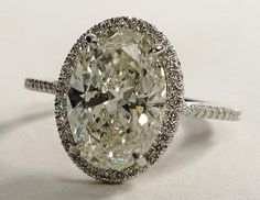 Oval Halo Diamond Engagement Ring. Dream ring