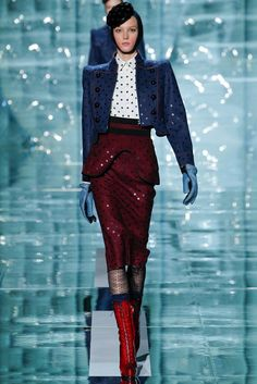 Marc Jacobs Fall 2011 Ready-to-Wear Fashion Show - Sigrid Agren