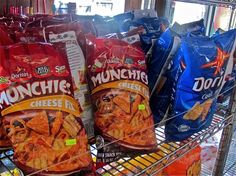 Snack time! Found some junk food while traveling in Nicaragua.