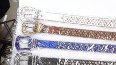 Leather Factory, Rhinestone Belt, Hangzhou, Belts For Women, Chanel Boy Bag, Fashion Belts, Shoulder Bag, Leather Accessories, Blue