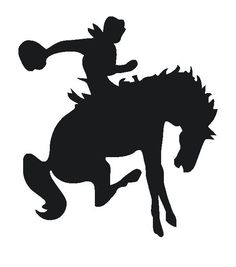 saddle bronc rider clip art http gateminder com out west designs rh pinterest com free rodeo clipart images free rodeo clip art images