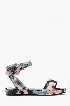 Digital Petal Sandal