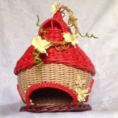 Гномодом. Плетение из бумаги