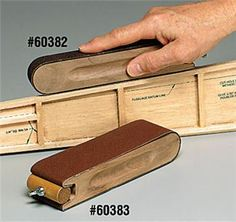 Sanding block idea - this could be done with a few scraps for sure.