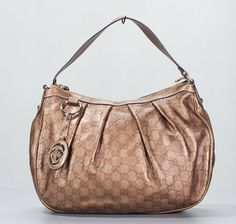 Gucci Gold Bronze Guccissima Leather Sukey Hobo Bag Review Buy Now