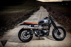 The Art of Cool – Triumph Bonneville Scrambler by COOLmotorcycles | ColumnM