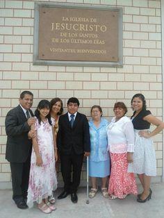 Carlos, Martha e hija, Daniel, Hna. Marina Charles Mema y Karla