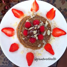 Vegan Buckwheat Pancakes #vegan Vegan Buckwheat Pancakes, My Recipes, Healthy Recipes, Food Facts, Sugar Free, Almond, Coconut, Gluten Free, Baking