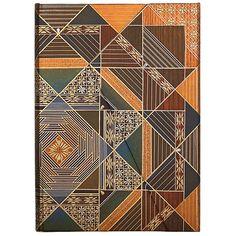 PAPERBLANKS Notizbuch Kirikane Kollektion Bija, midi liniert #paper #book #journal #gift