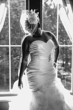 Love Endures All - Inspirational Wedding in Virginia by Keith Cephus Photography - Munaluchi Bridal Magazine #bridal #wedding #blackandwhite