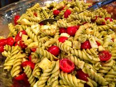 Caprese Pasta Salad - www.TheBarnyardBistro.com