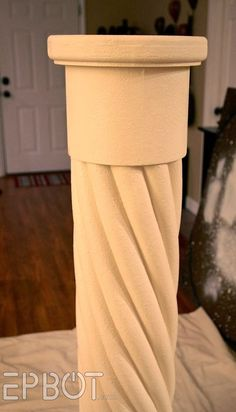 """EPBOT: Make Your Own """"Stone"""" Decorative Column… With Pool Noodles! – Before and Afters Remodel Ideas Make Your Own, Make It Yourself, How To Make, Pool Noodle Crafts, Diy And Crafts, Arts And Crafts, Summer Crafts, Stone Columns, Pool Noodles"""