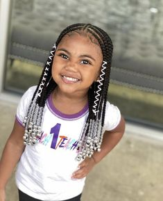 kid braid styles These tribal braids by are the perfect protective style for little cuties Styled by braidsbyjamie_ Do you protective style your kids hair during the fall and winter Black Kids Braids Hairstyles, Black Girl Braided Hairstyles, Baby Girl Hairstyles, Braids For Black Hair, Toddler Hairstyles, Prom Hairstyles, Little Girls Natural Hairstyles, Dreadlock Hairstyles, Girl Haircuts