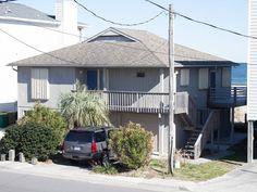 "$2200, ""Kure Kalm,"" 4 bedroom (2Q, 1F, 2T), 3 parking, no pets Kure Beach, Carolina Beach, House Rentals, Beach House, Cottage, Bath, Bedroom, Outdoor Decor, Home"