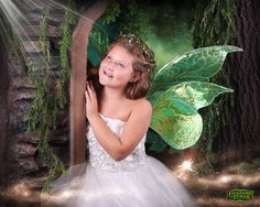 Maddie's modeling debut -- Enchanted Fairies 2013 Calendar