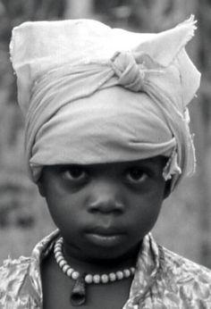 Kpelle girl, Kpaiyea, Liberia