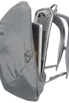 The North Face's new backpack has a range of innovative features, three of which are patent pending, for people on the go.