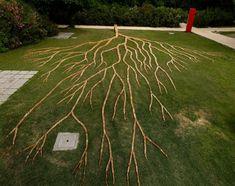 Wooden Domino Tree