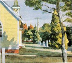 Church in Eastham byEdward Hopper