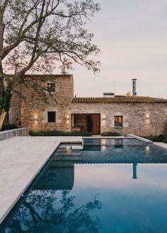 Peratallada Castle by Mesura | Open-air pools
