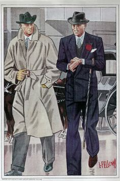 fashion poster -Business meeting / Laurence Fellows