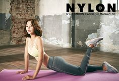 Marriage Without Love's Han Groo Boasts Her Dancer's Body In September's Nylon Korea