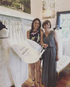 Such a special moment for Vanessa last week when she had her final fitting with Anne and took her dream dress home!! Can't wait for the photos xx Red Dog Triathlon Training we love looking after your girls. xx
